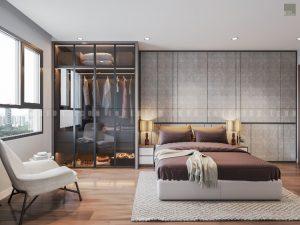 căn hộ grand riverside quận 4 - phòng ngủ master