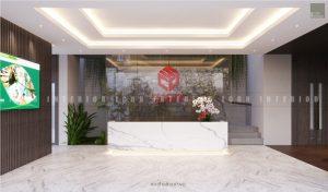 thiết kế nội thất văn phòng tphcm - tiền sảnh ảnh 1