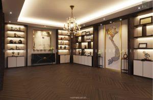 thiết kế nội thất văn phòng tphcm - phòng truyền thống ảnh 2