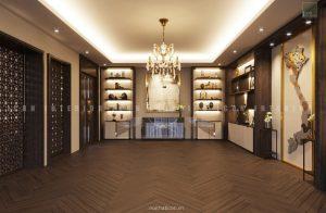 thiết kế nội thất văn phòng tphcm - phòng truyền thống ảnh 1