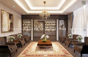 thiết kế nội thất văn phòng tphcm - phòng truyền thống ảnh 3
