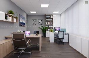 thiết kế nội thất văn phòng tphcm ảnh 2