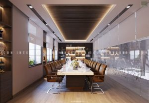 thiết kế nội thất văn phòng tphcm phòng họp lớn 2