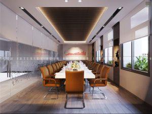 thiết kế nội thất văn phòng tphcm phòng hợp lớn 1