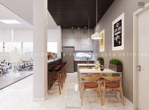 thiết kế nội thất văn phòng tphcm - lobby ảnh 2