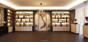 thiết kế nội thất văn phòng tphcm - phòng truyền thống ảnh 4