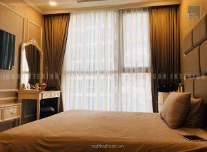 thi công nội thất phòng ngủ master chung cư trọn gói