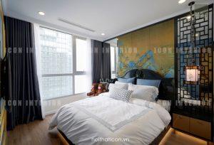 thiết kế thi công nội thất tphcm - phòng ngủ căn hộ