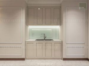 thiết kế nội thất nhà bếp căn hộ chung cư đẹp