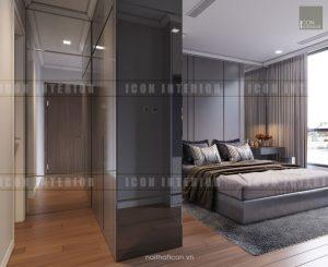 phòng ngủ landmark 6 vinhomes central park