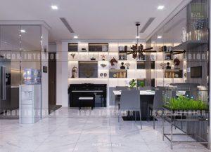 phòng ăn landmark 6 vinhomes central park