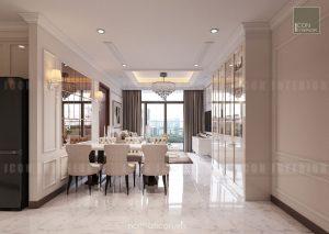 thiết kế nội thất tiền sảnh căn hộ chung cư đẹp