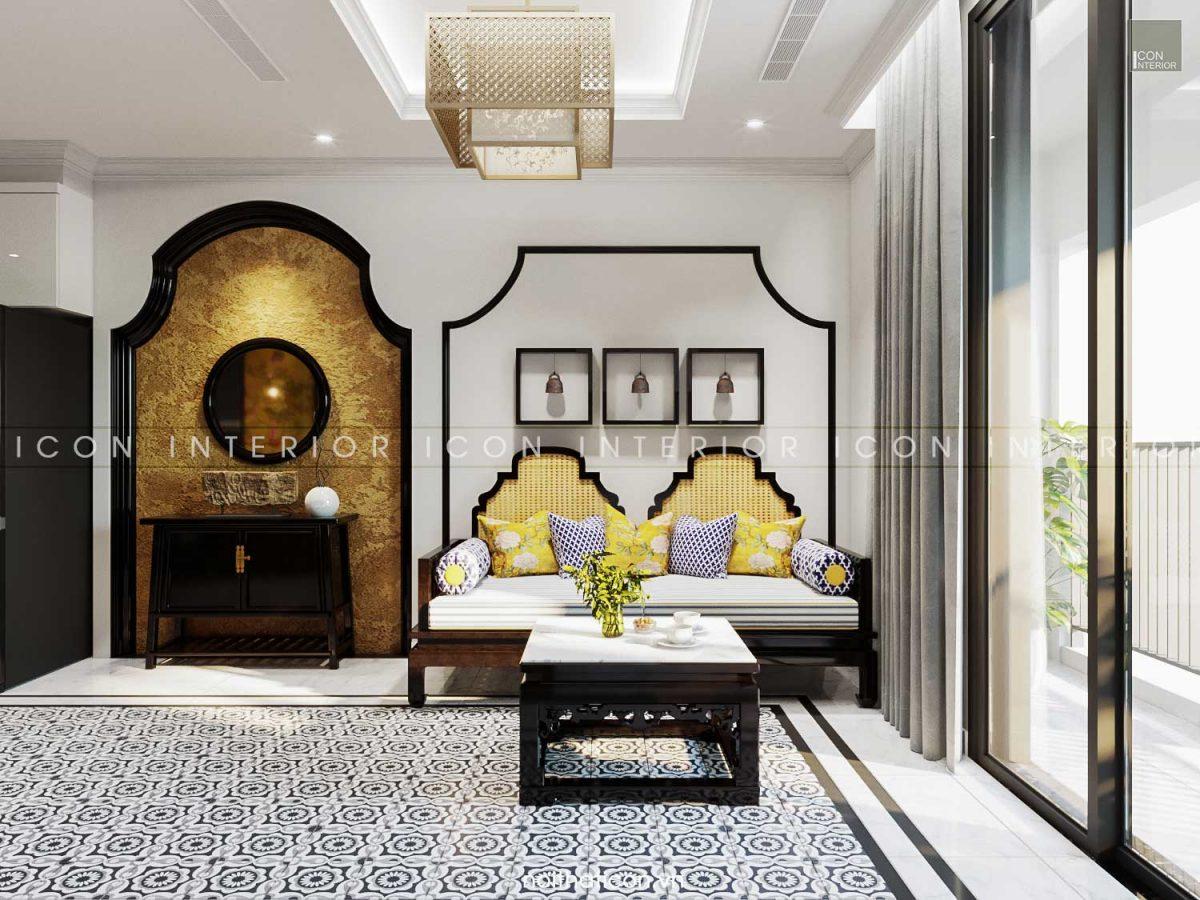 thiết kế nội thất căn hộ 100m2 landmark 3