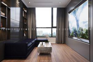 thiết kế phòng chiếu phim căn hộ Vinhomes Central Park