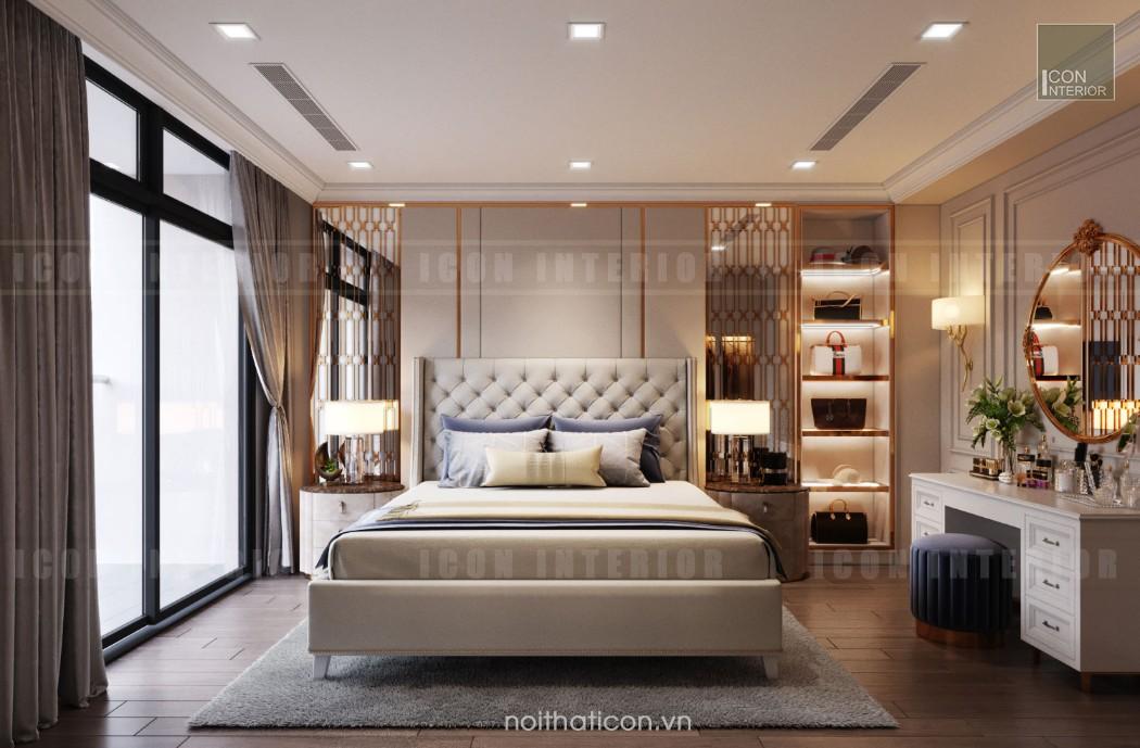 thiết kế căn hộ cao cấp vinhomes central park - phòng master