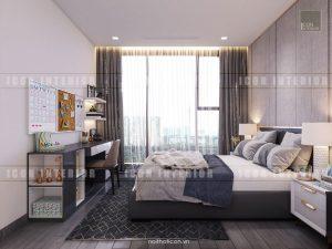 thiết kế phòng ngủ vinhomes ba son golden river