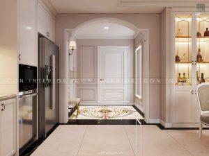 thiết kế nội thất tân cổ điển tiền sảnh