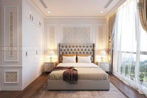 thiết kế nội thất tân cổ điển phòng ngủ 2