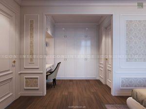 thiết kế nội thất tân cổ điển - tủ quần áo