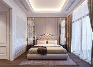 thiết kế nội thất tân cổ điển - phòng ngủ