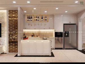 thiết kế nội thất tân cổ điển - nhà bếp