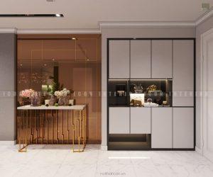 thiết kế tiền sảnh căn hộ Vinhomes Central Park