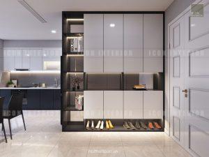 thiết kế nội thất tiền sảnh vinhomes golden river
