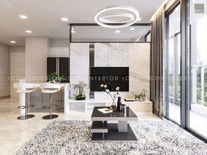 nội thất căn hộ vinhomes golden river - phòng khách