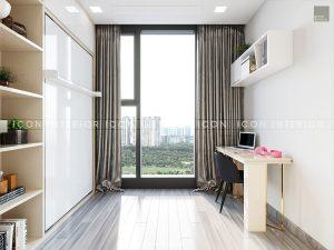nội thất căn hộ vinhomes golden river - phòng làm việc