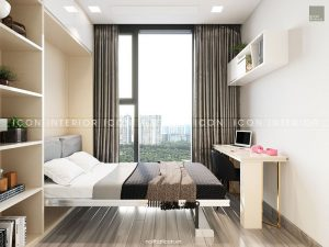 nội thất giường thông minh căn hộ vinhomes golden river