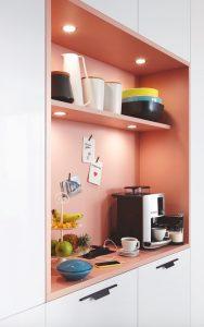 xu hướng thiết kế bếp gam pastel