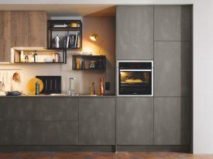 xu hướng thiết kế bếp- phong cách công nghiệp