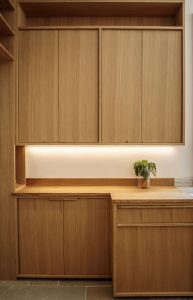 xu hướng thiết kế bếp với gỗ