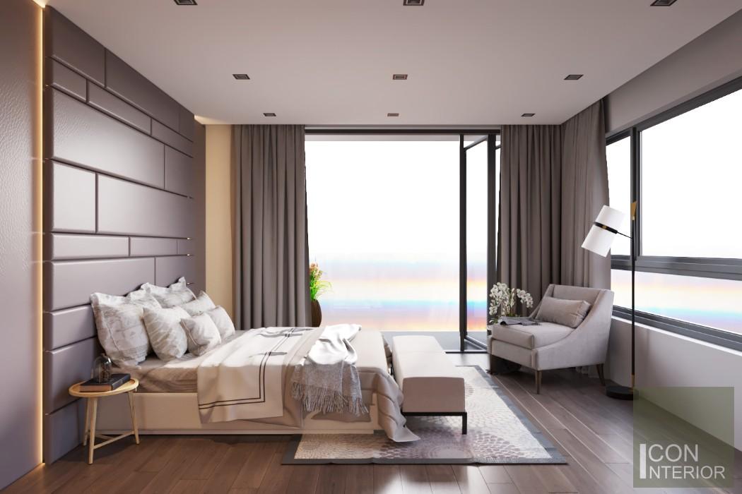 thiết kế nội thất biệt thự lucasta phòng ngủ nhỏ