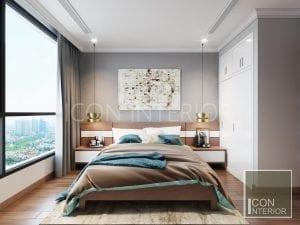 tư vấn thiết kế nội thất vinhomes - phòng ngủ master