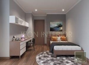 tư vấn thiết kế nội thất vinhomes - phòng ngủ nhỏ