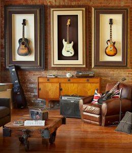 thiết kế phòng giải trí tại nhà - phòng âm nhạc 2