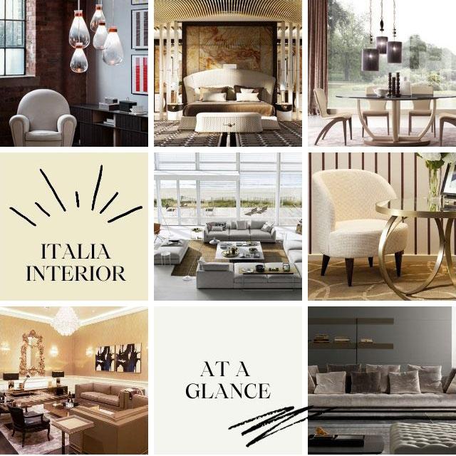 Các thương hiệu nội thất Italia