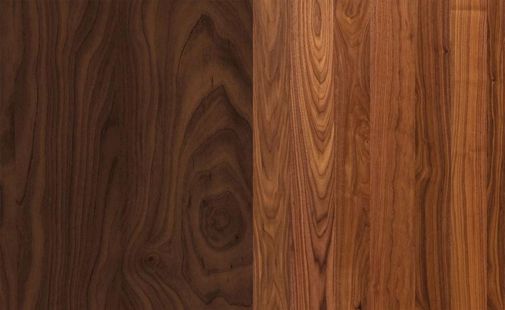 vật liệu nội thất gỗ óc chó
