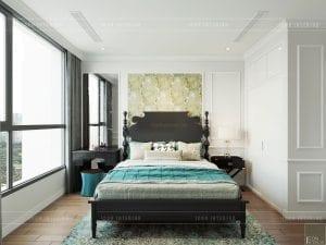 phong cách Indochina - phòng ngủ