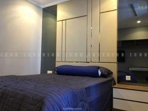 thi công nội thất phòng ngủ master hiện đại