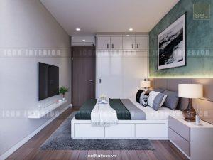 căn hộ kingston residence phòng ngủ master