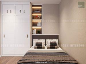 căn hộ kingston residence - phòng ngủ nhỏ