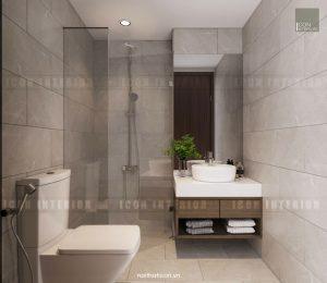 căn hộ kingston residence phòng tắm