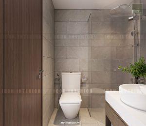 căn hộ kingston residence - phòng tắm