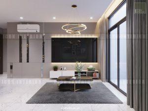 căn hộ kingston residence - phòng khách