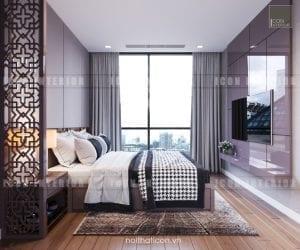 thiết kế nội thất châu âu - phòng ngủ
