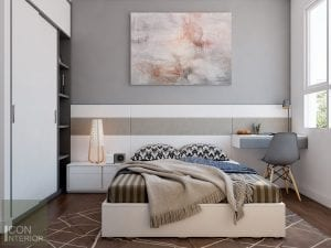 nội thất phòng ngủ nhỏ căn hộ
