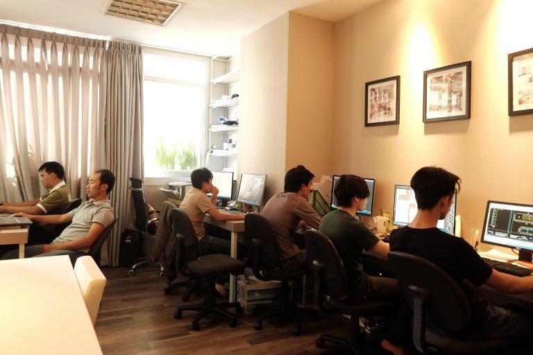 công ty thiết kế và thi công nội thất icon interior