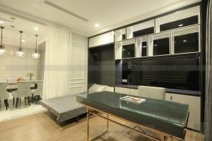 thi công nội thất giường thông minh căn hộ vinhomes central park